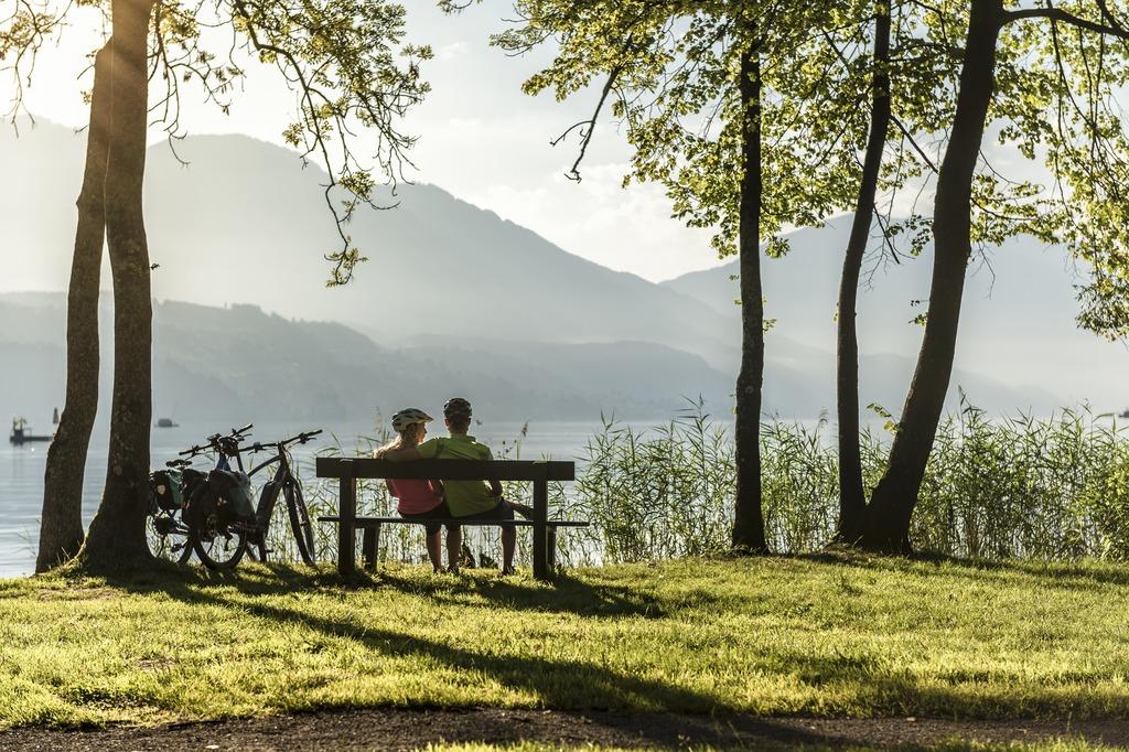Urlaub am Millstätter See - den See per Rad umrunden