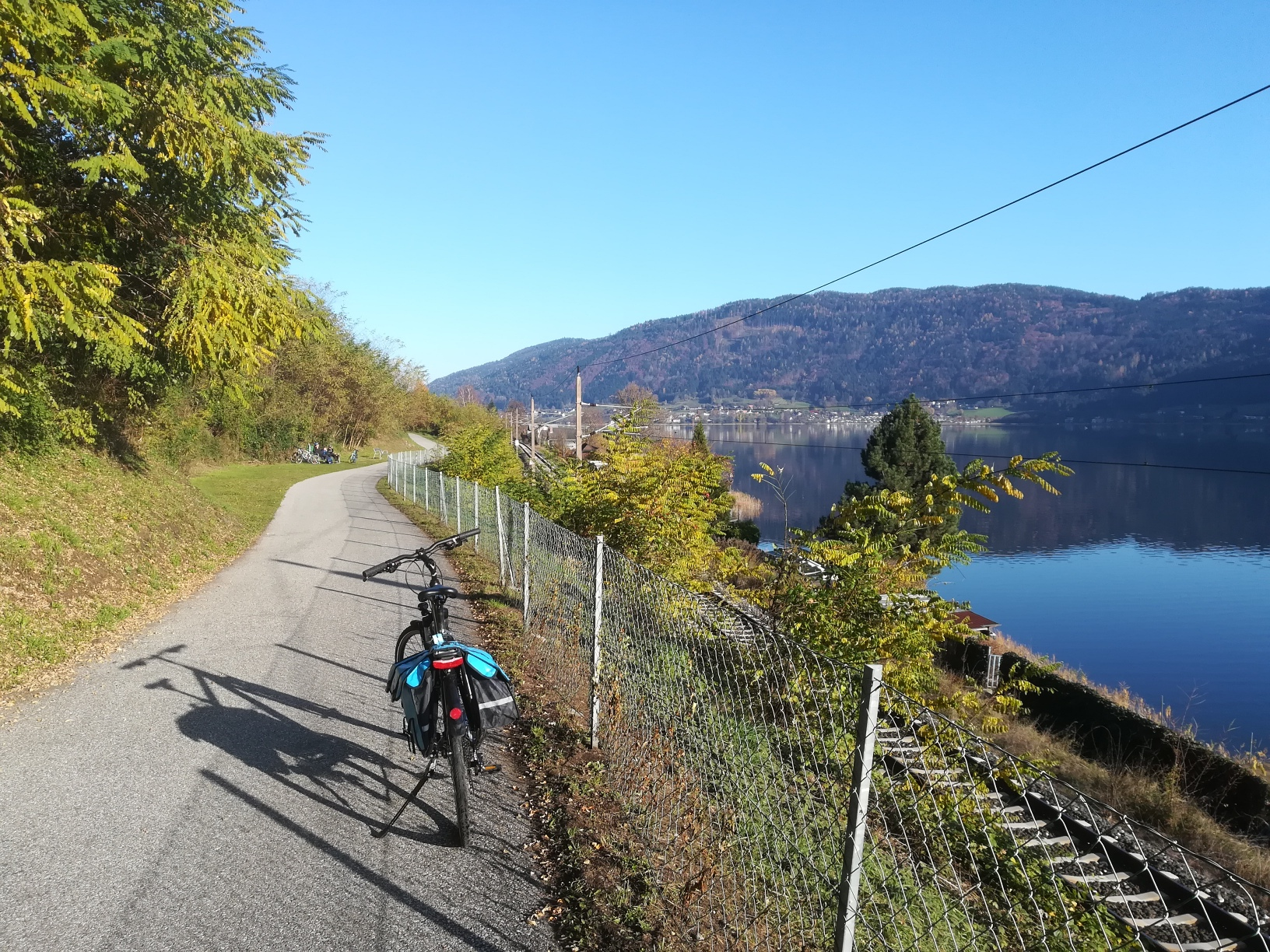 den Ossiacher See mit dem Rad erkunden - eine tolle Tour