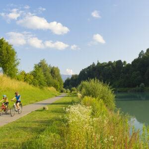 Der Drauradweg ist einer der bekanntesten Radwege Europas - mit dem Rad erkunden