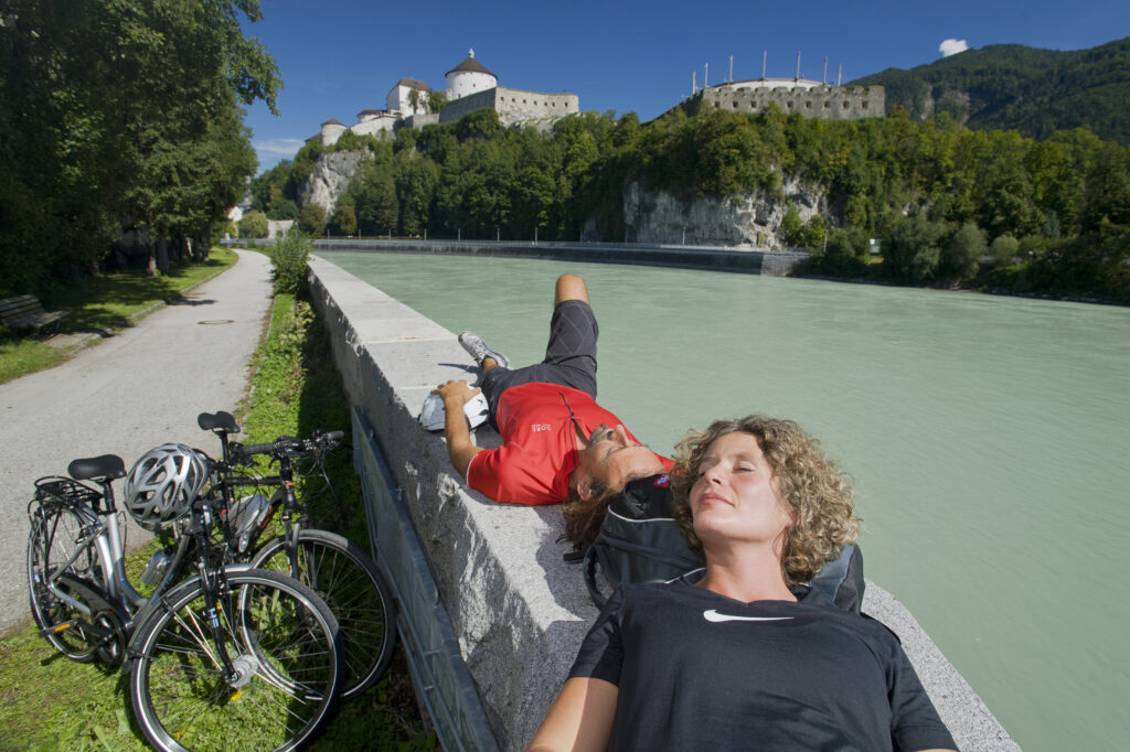 am Innradweg von Innsbruck nach Passau radeln - Erlebnis pur