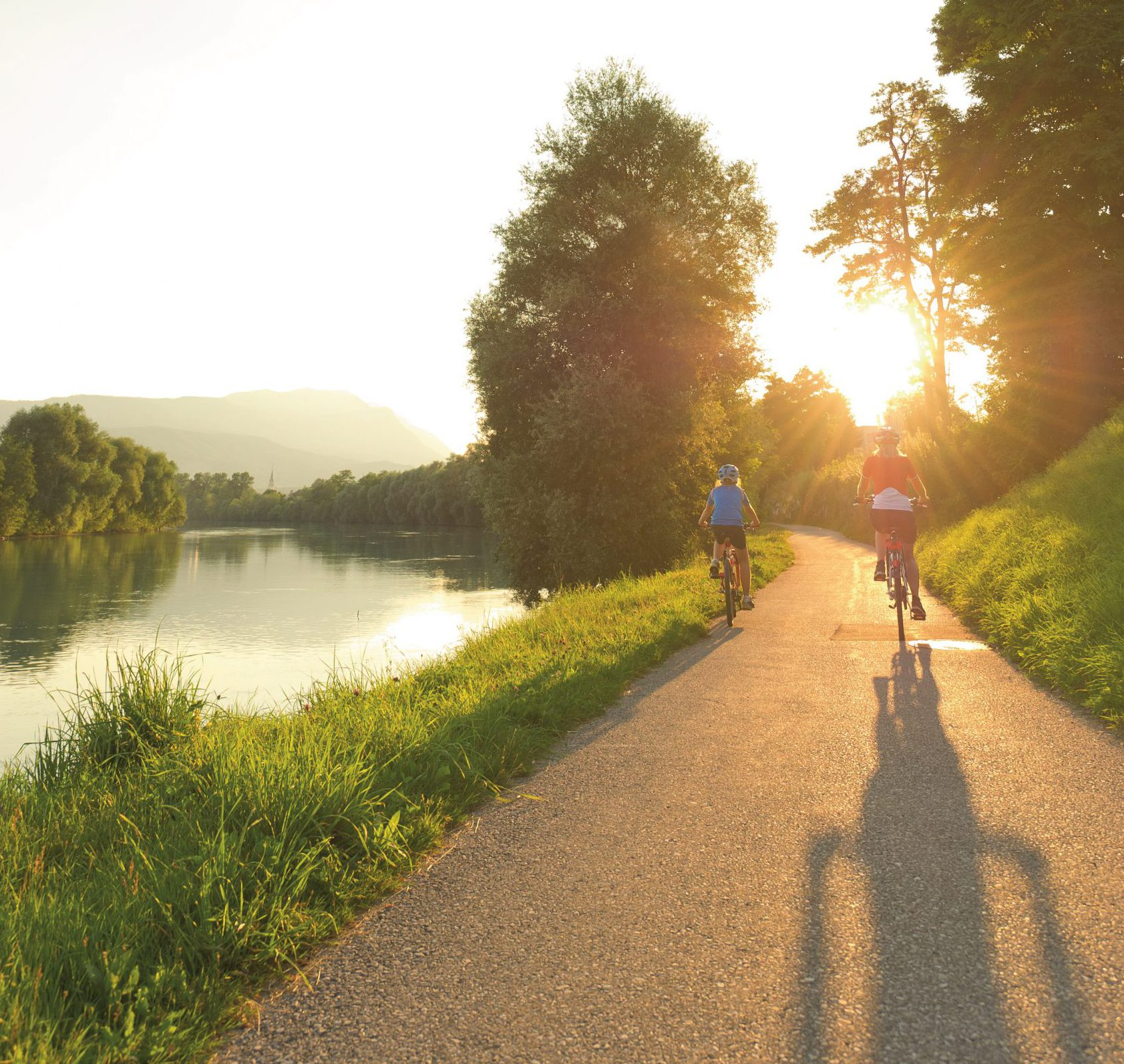 The Drau cycle path, which has been awarded 5 stars by the ADFC, is particularly family-friendly - a holiday for the whole family