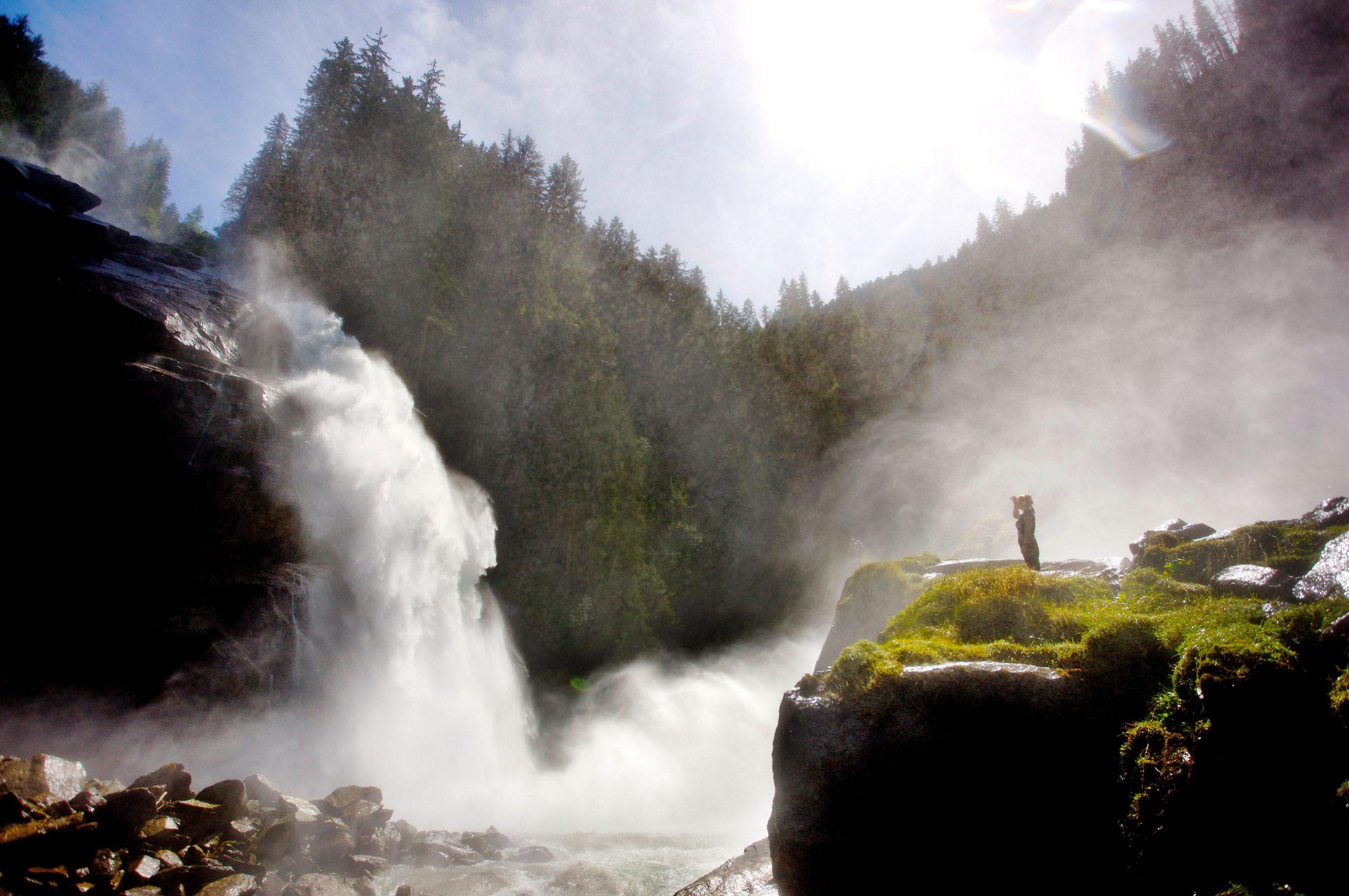 die Wasserfälle Krimml im Nationalpark Hohe Tauern sind ein Besuch wert