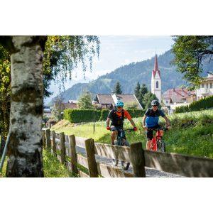 die Sonnenstadt Lienz in Tirol mit dem Rad erkunden