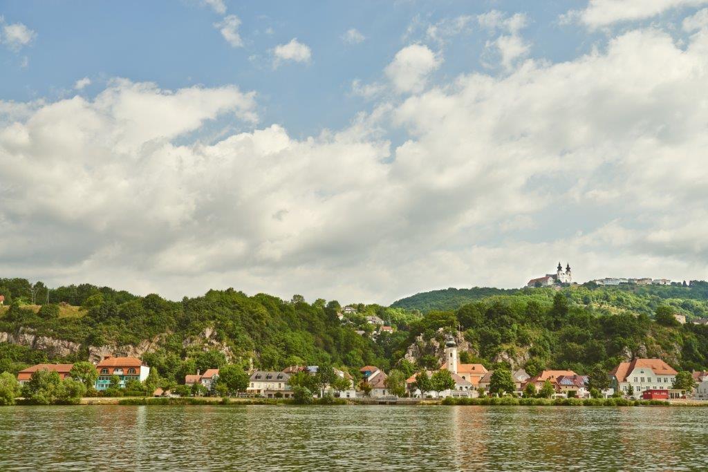 Radfahren am Donauradweg
