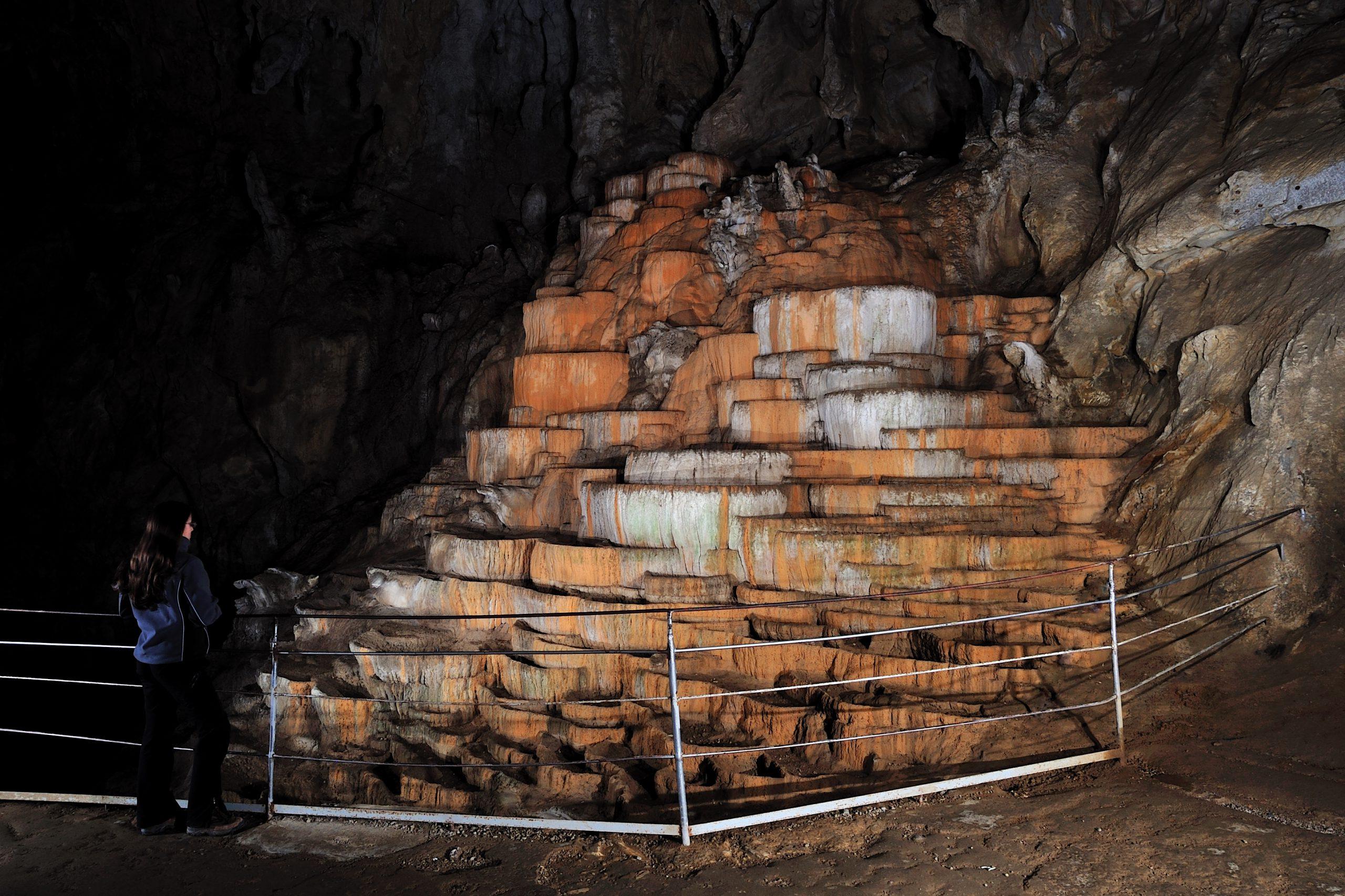ein tolles Erlebnis während der Radtour - ein Besuch der Höhlen von Postojna
