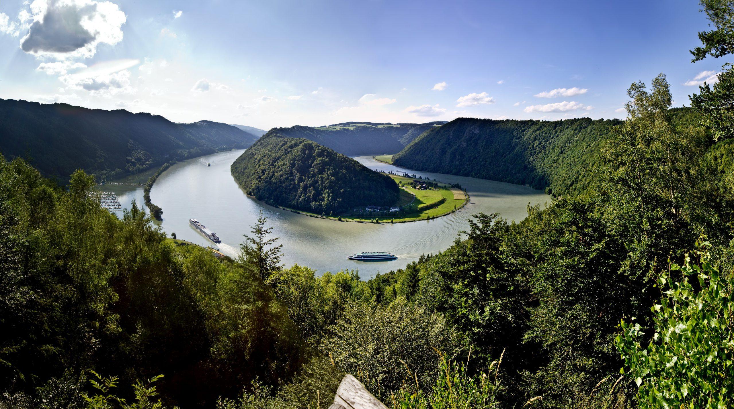 am Donauradweg radeln