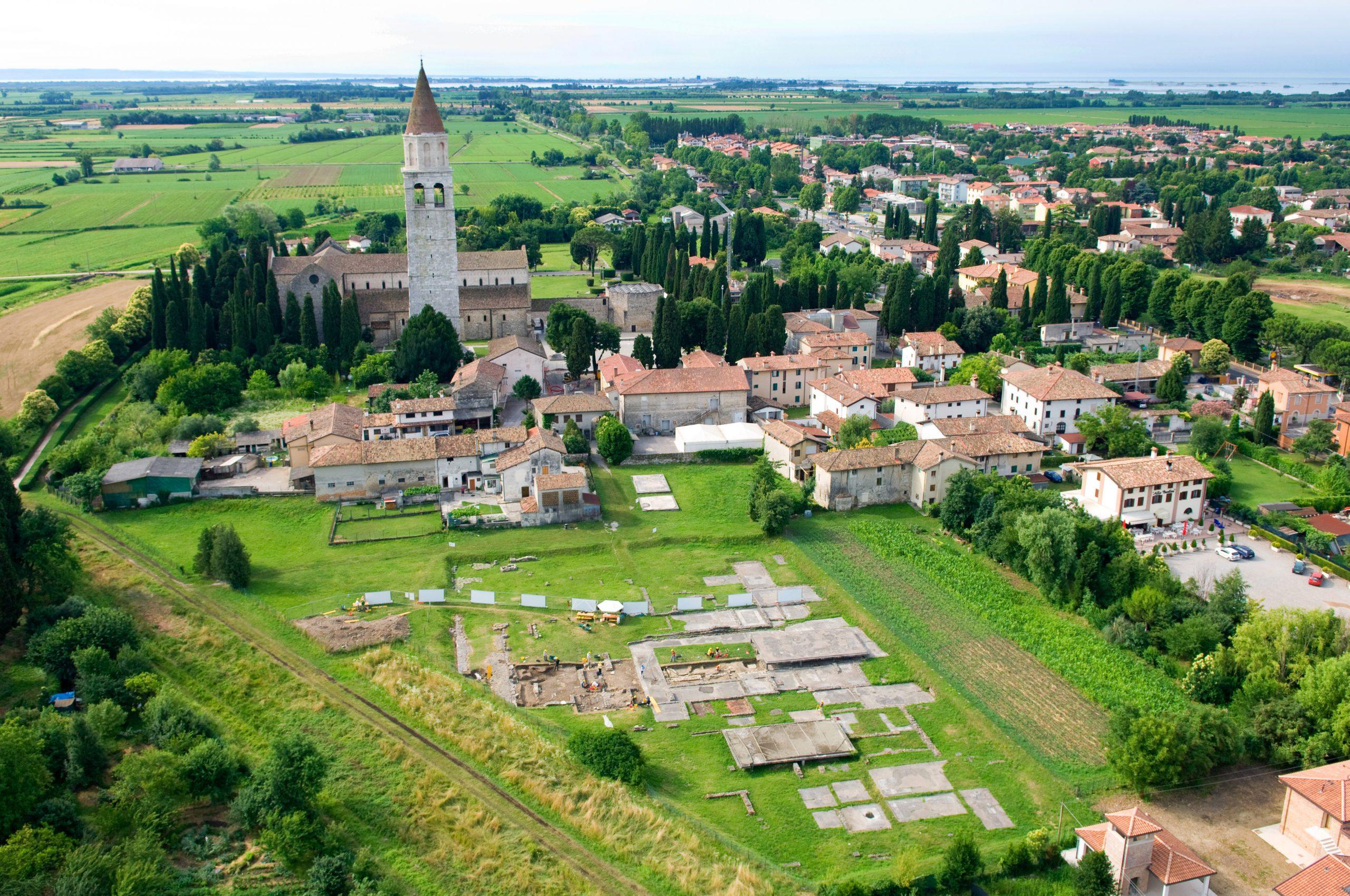"""Radfahren und Kultur kombiniert - die Spuren der Römer in Aquileia, dem """"zweiten Rom"""" besichtigen"""