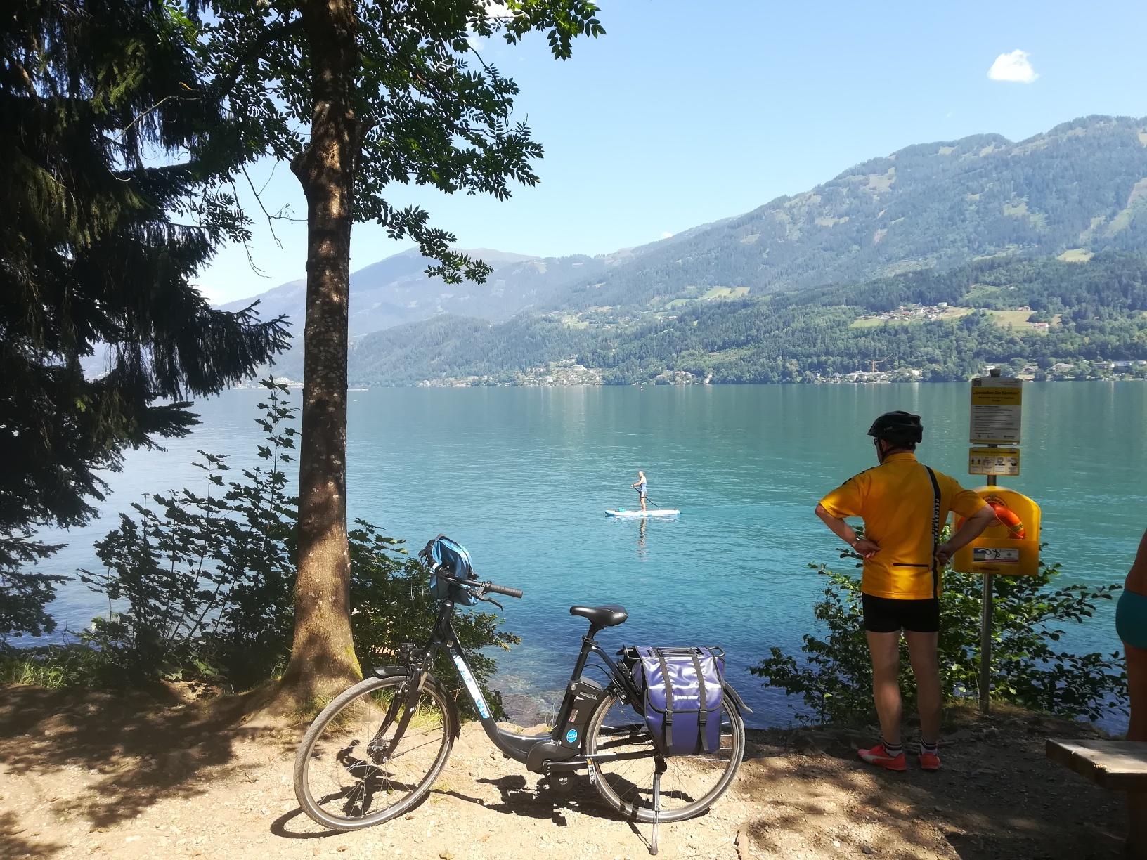 Explorez de fantastiques circuits à vélo en Carinthie - Lac Millstatt à vélo
