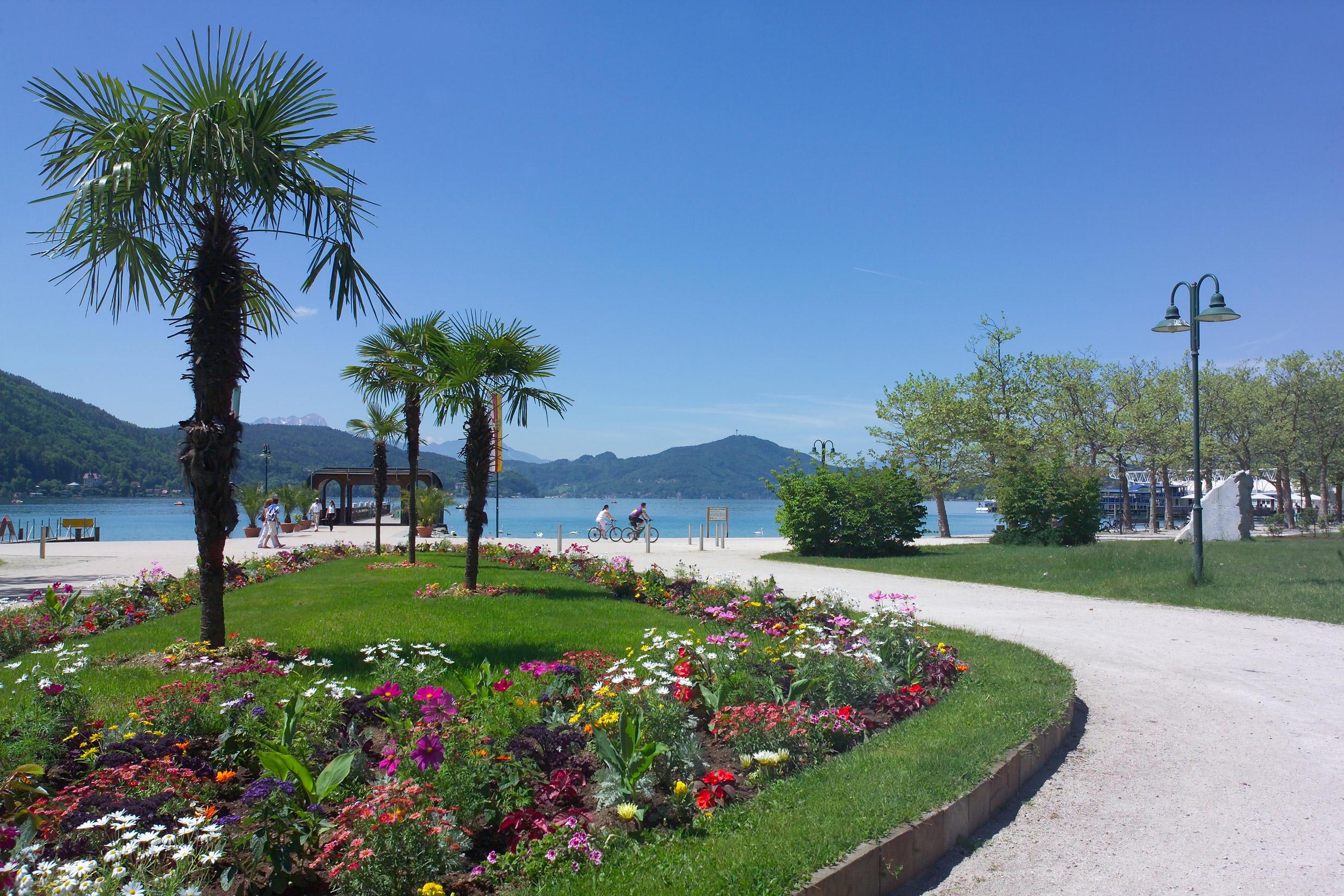 der größte See Kärntens - mit dem Rad umrunden