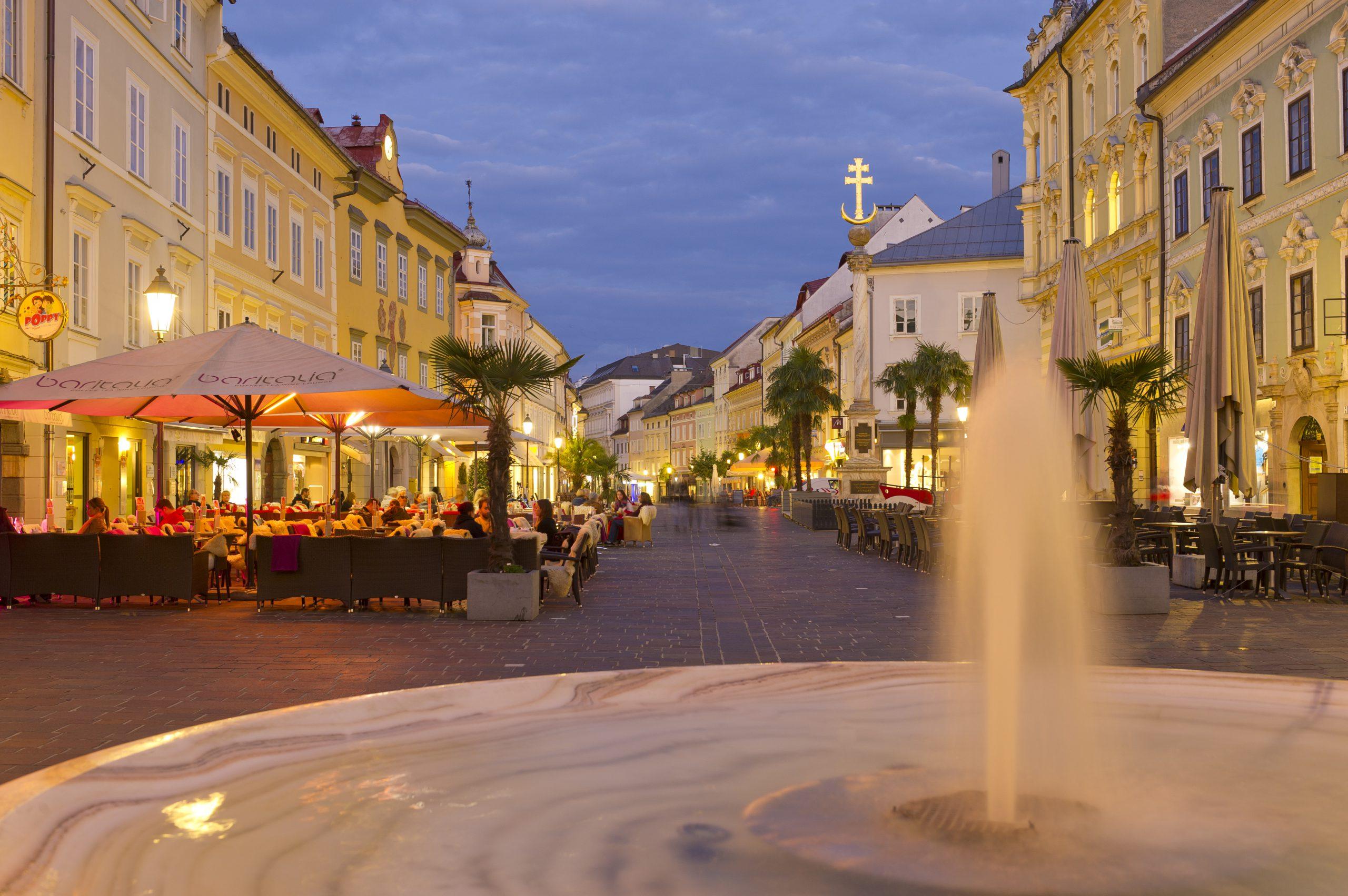 Kolesarske počitnice v prestolnici zvezne države Celovec na Wörtherseeju v osrčju Koroške