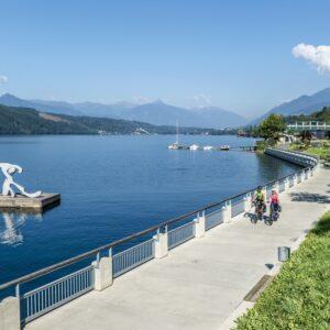 velika dogodivščina - s kolesom raziščite Miljsko jezero