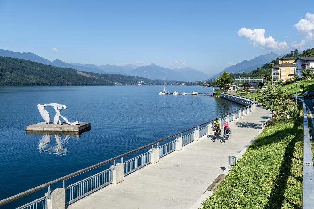 una grande avventura: esplora il lago di Millstatt in bicicletta
