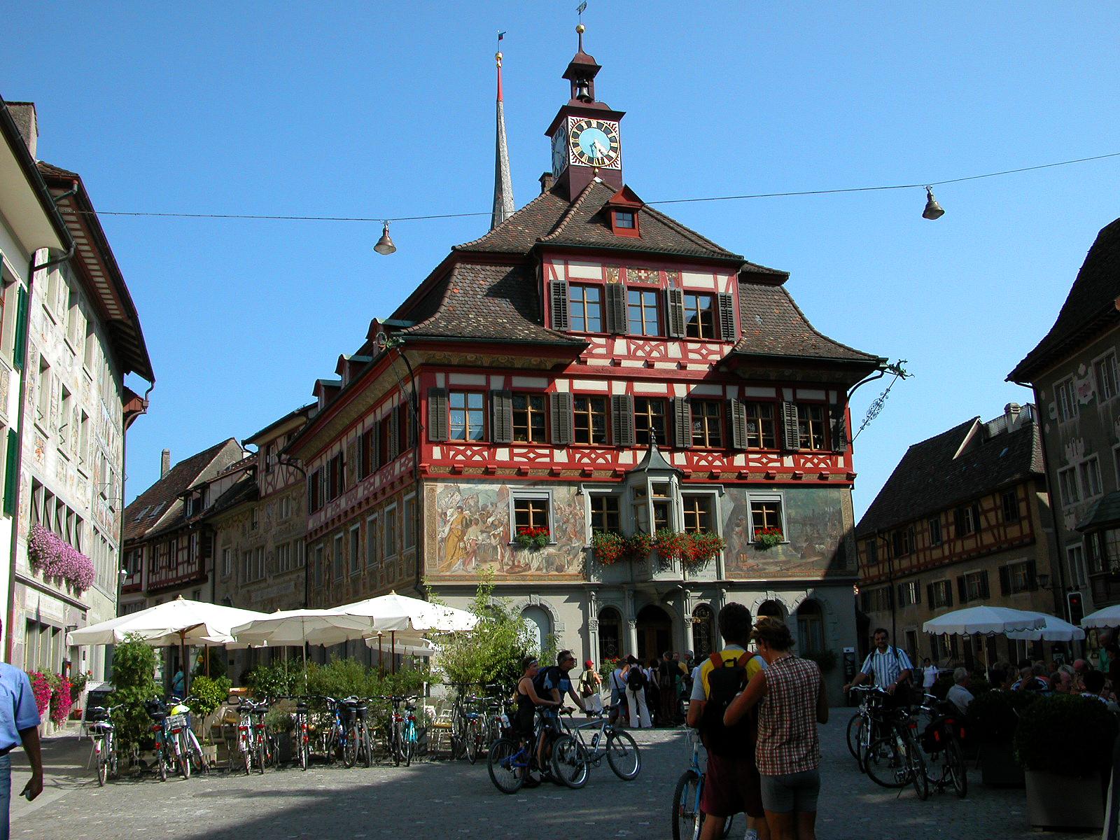 Radurlaub am Bodensee-mit dem Rad Stein am Rhein erkunden