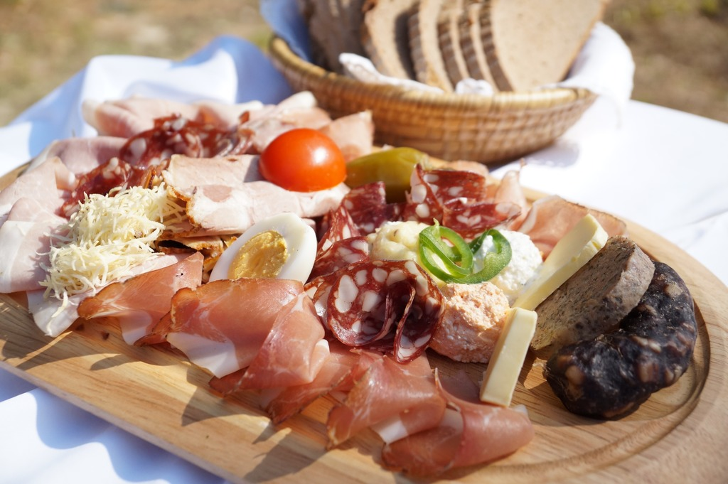 a must on a Carinthian cycling holiday - the Carinthian snack