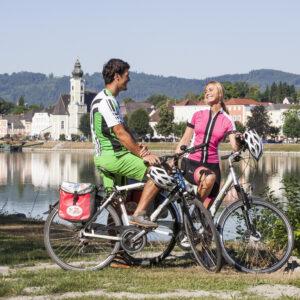 Blick auf Aschach an der DonaucOberosterreich Tourismus GmbH Hermann Erber