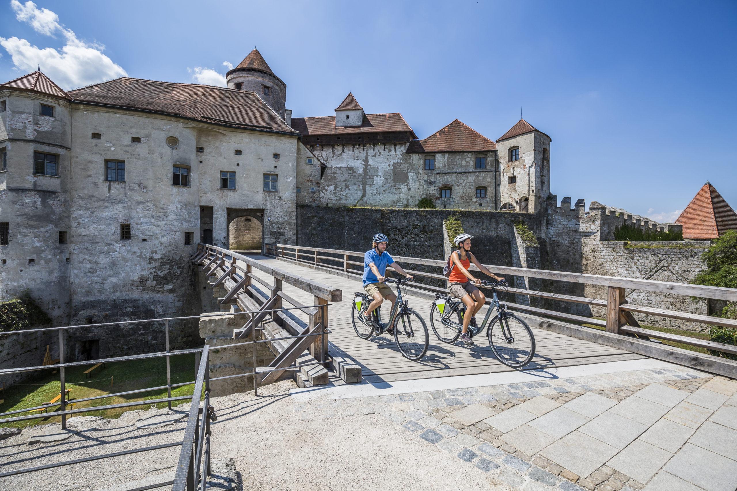 Radtour entlang der Inn und Salzach