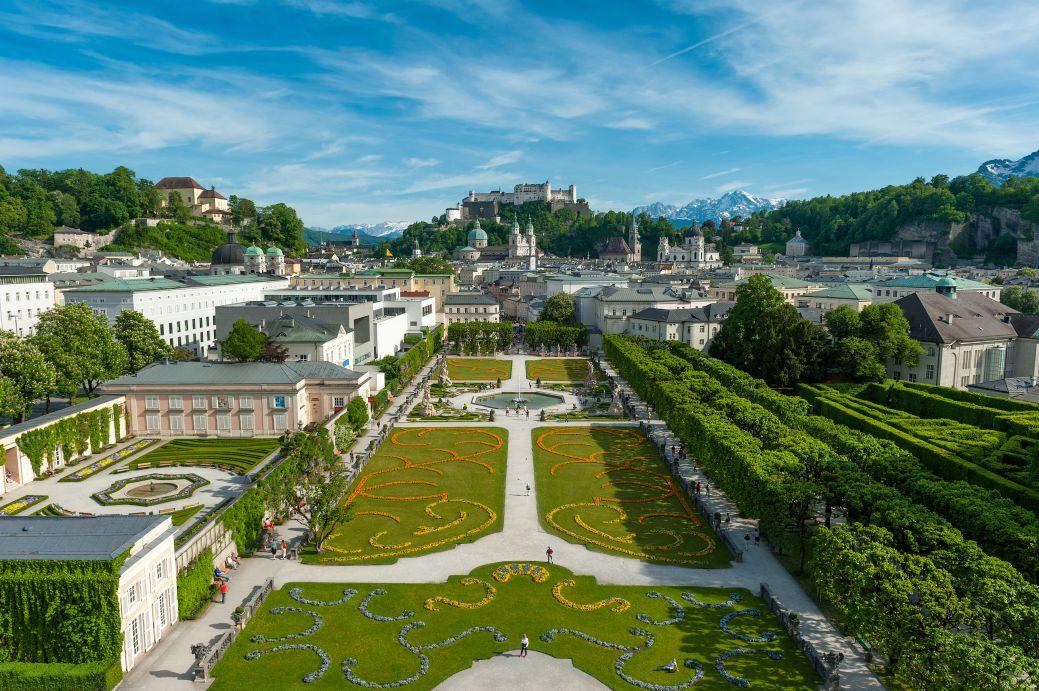 Genussvolle Radtour in Salzburg mit vielen Sehenswürdikeiten