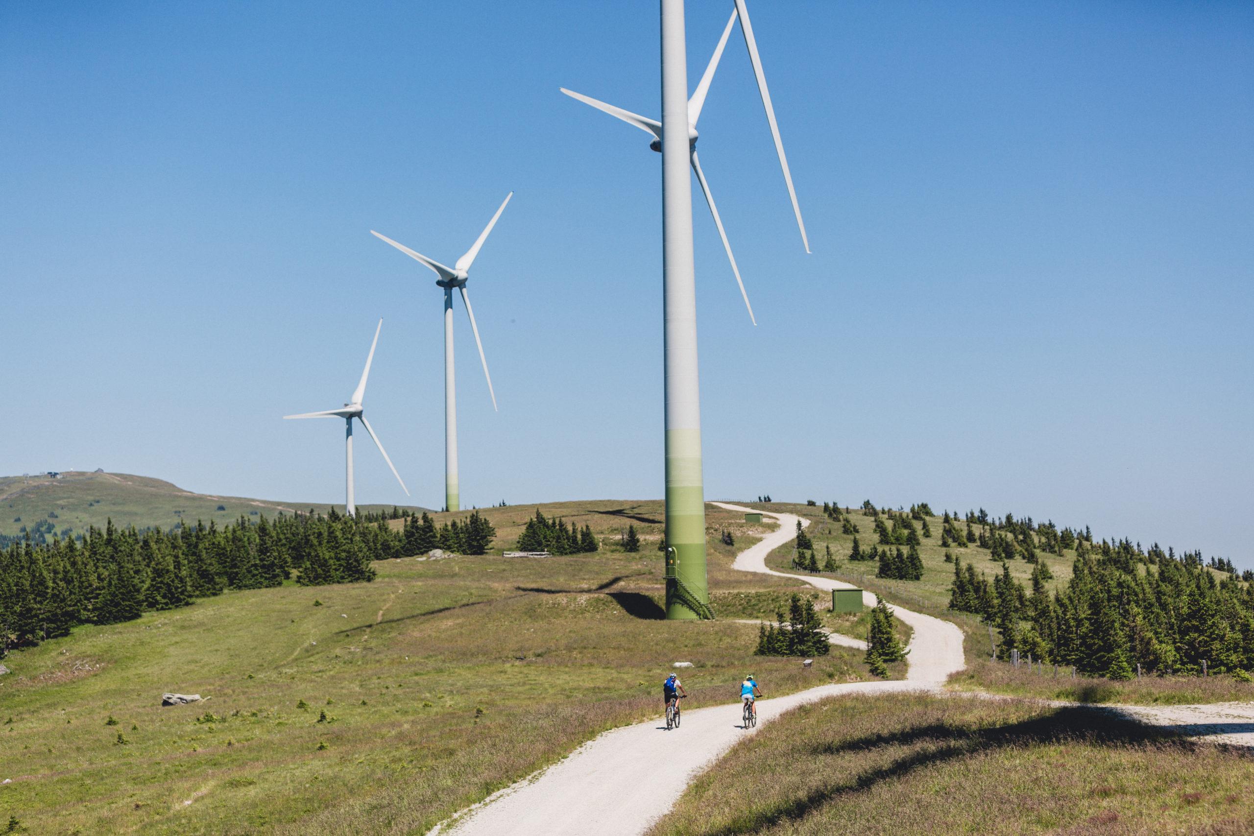 Windpark Pretul - ein toller Ausflug im Radurlaub