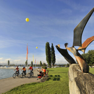 Arbon Velofahren Seeufer c Thurgau Tourismus