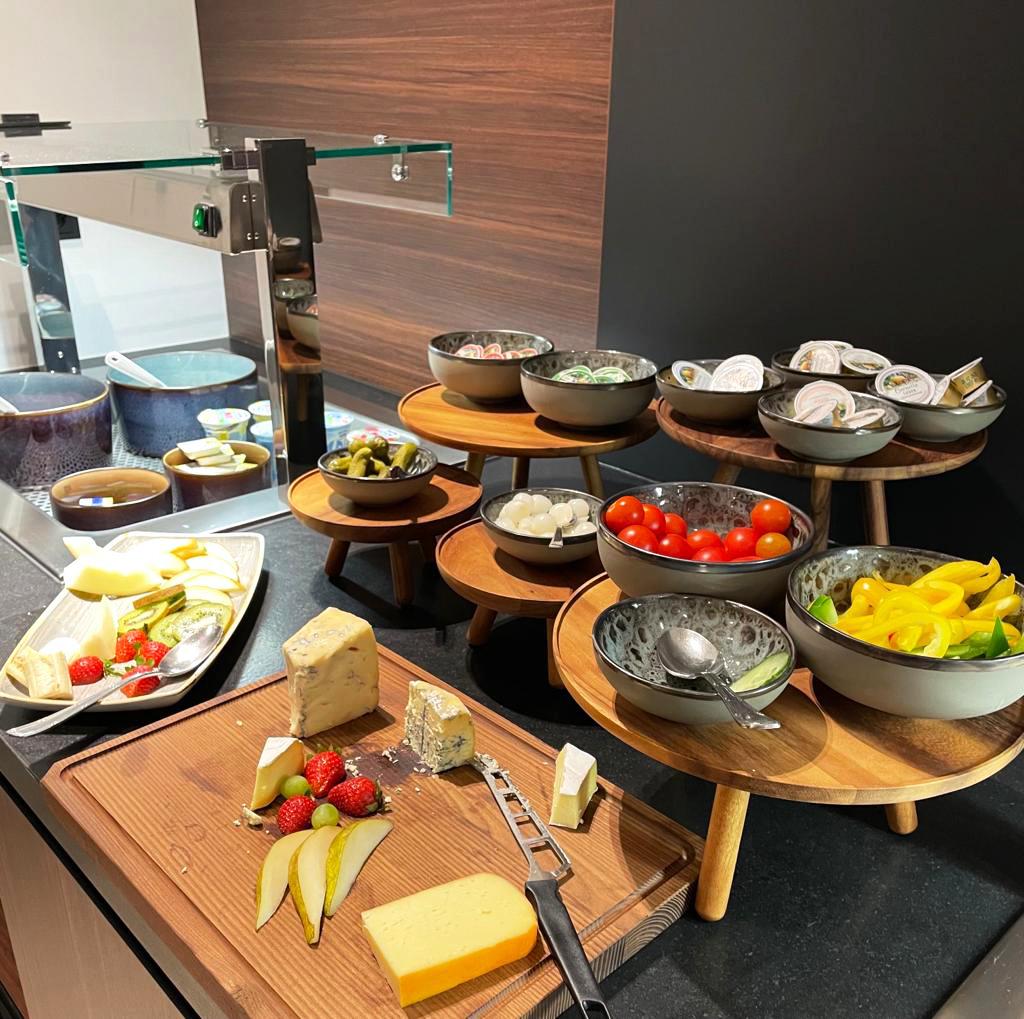 Hotel OnTheWay 24 Frühstück