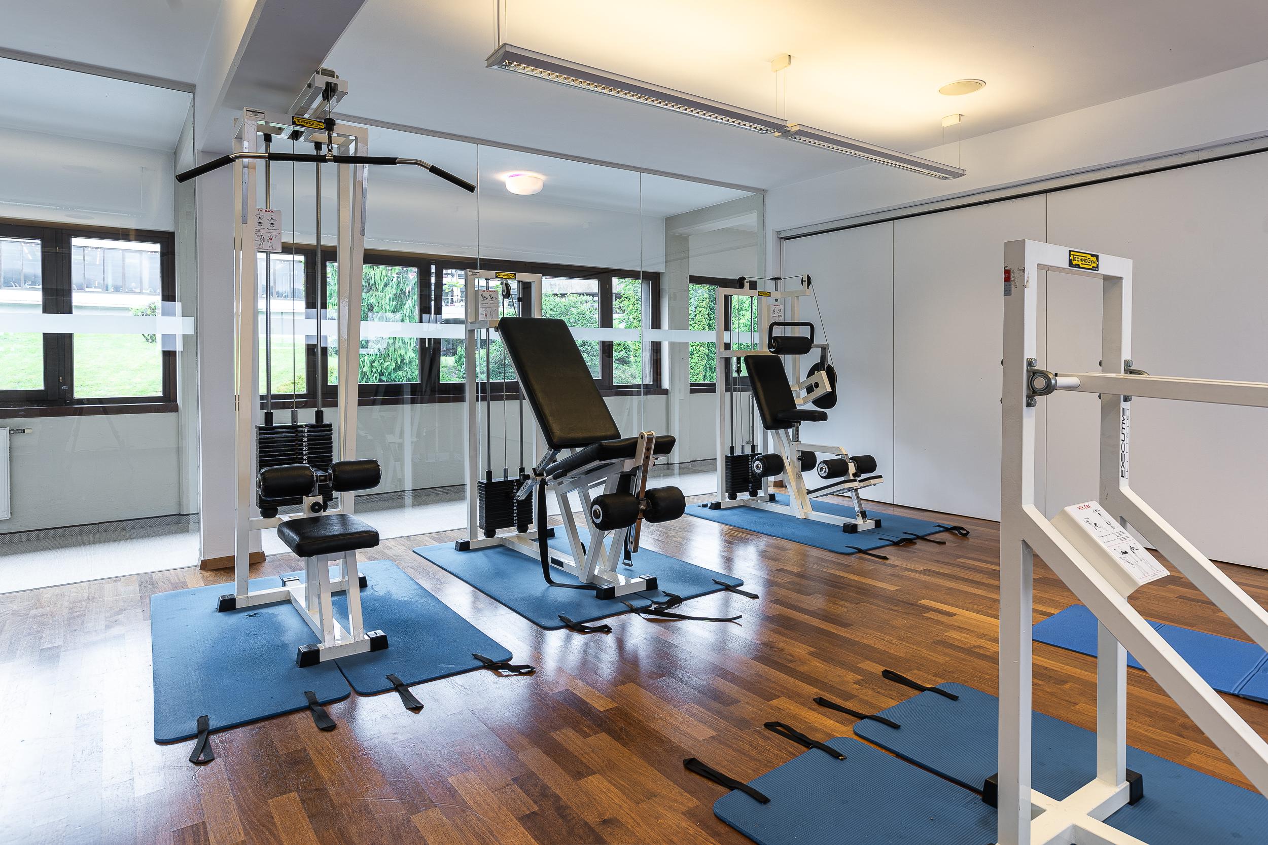 hotel parks fitnessbereich